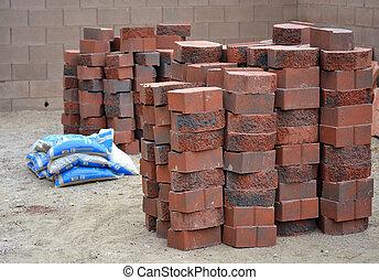 muro sostegno, materiali, costruzione