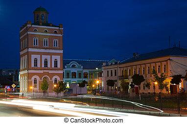 murom center in evening
