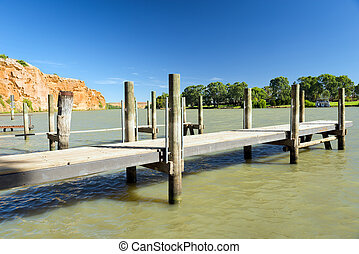 Murray River Jetty