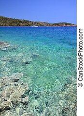 murter, croacia, isla