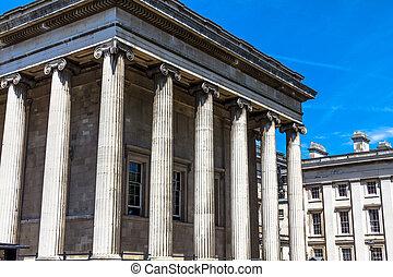 musée, droit, aile, britannique