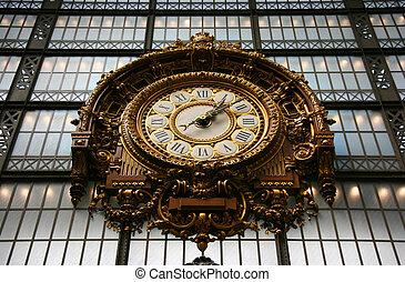 musée, orsay, horloge