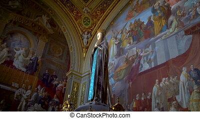 musées, italie, marie, rome, vatican, statue