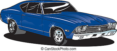 Muscle Car - 60's Muscle car