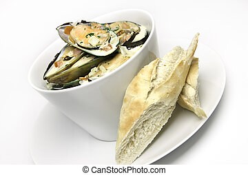 how to cook muscles white wine