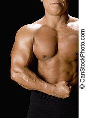 muscoloso, uomo