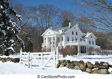 Muscoot Farm - The main house at Muscoot, a interpretive...