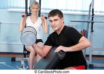 Muscular building