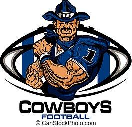 cowboys football - muscular cowboys football player team ...