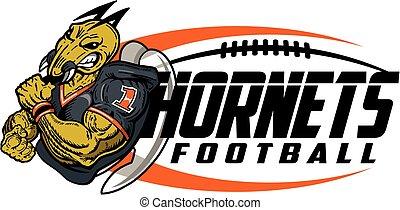 hornets football - muscular hornets football player team ...