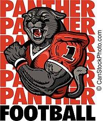 panther football player
