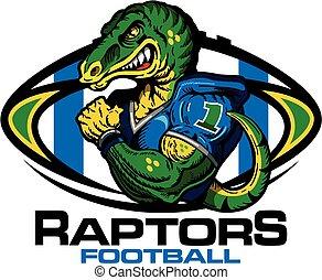 raptors football - muscular raptors football player team ...