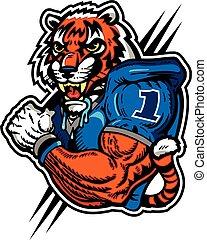 tiger football player