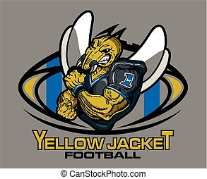 yellow jacket vector clipart eps images 1402 yellow