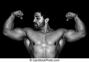 musculation, homme