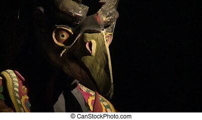 musef, la, masque, payer, bolivie, gallo