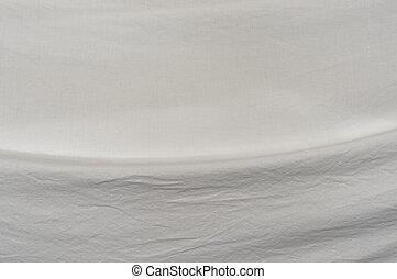 muselina, tela, curvo, pliegue, plano de fondo