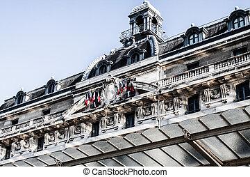 museo de orsay, es, un, museo, en, parís, francia