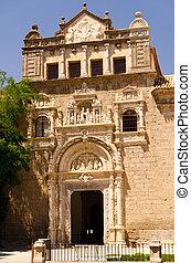 Museo de Santa Cruz at sunny day at Toledo, Madrid, Spain