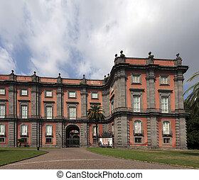 museo, italia, nápoles, capodimonte