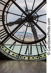museo, orsay, parís, reloj