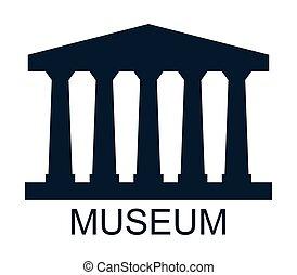 museu, ícone