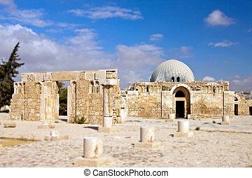 Museum at Citadel in Amman, Jordan Amman