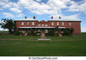 museum, -, botanik, bucht, sydney, australia