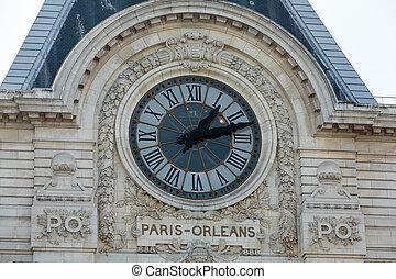 museum, d'orsay, paris, france.