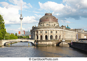 Museum Island on Spree, Berlin - Museum Island on Spree...