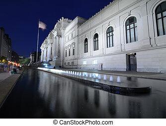 museum, kunst, metropolitisch