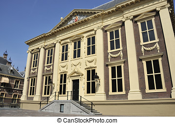 Museum Mauritshuis - Mauritshuis Museum in The Hague,...