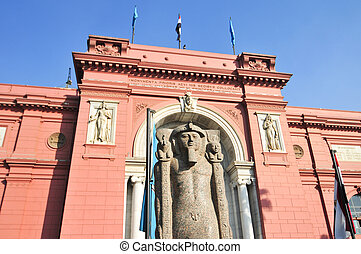 Museum of Egyptian Antiquities - Cairo, Egypt