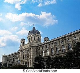 Museum of fine arts in Vienna, austrian capital