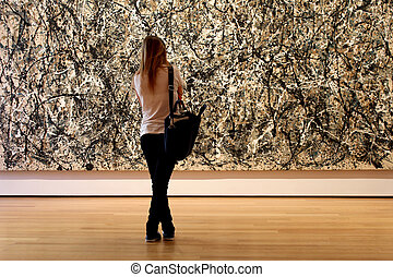 Museum of Modern Art in New York City - NEW YORK CITY -...