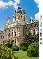 Museum of Natural History in Vienna, Austria - The Museum of...
