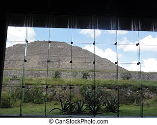 Museum of Teotihuacan in Mexico