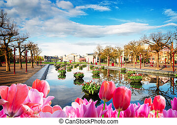 Museumplein square in Amsterdam