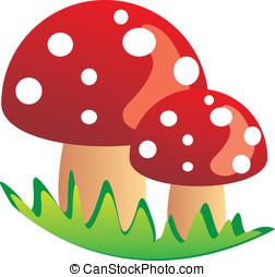 mushroom stock illustrations 34 027 mushroom clip art images and rh canstockphoto com mushroom clipart png mushroom clipart picture