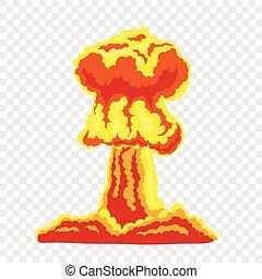 Mushroom cloud sign