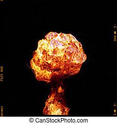 Mushroom Fire ball