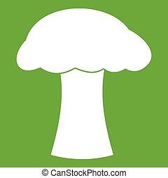 Mushroom icon green