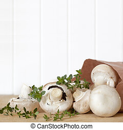Mushrooms and Thyme