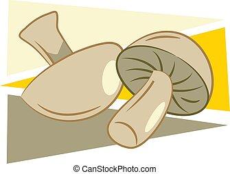 Mushrooms design