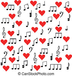 music., μουσική με υψίφωνο κλειδί , και , βλέπω , για , δικό σου , σχεδιάζω