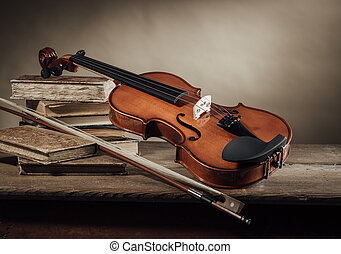 Music and arts still life