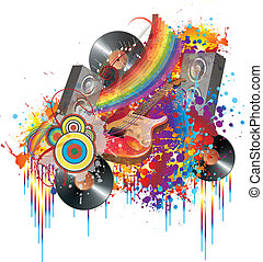 Music and colors