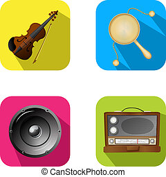 Music and party icons 2