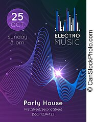 Music Audio Equalizer Poster