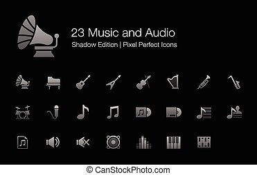 Music Audio Sound Icons